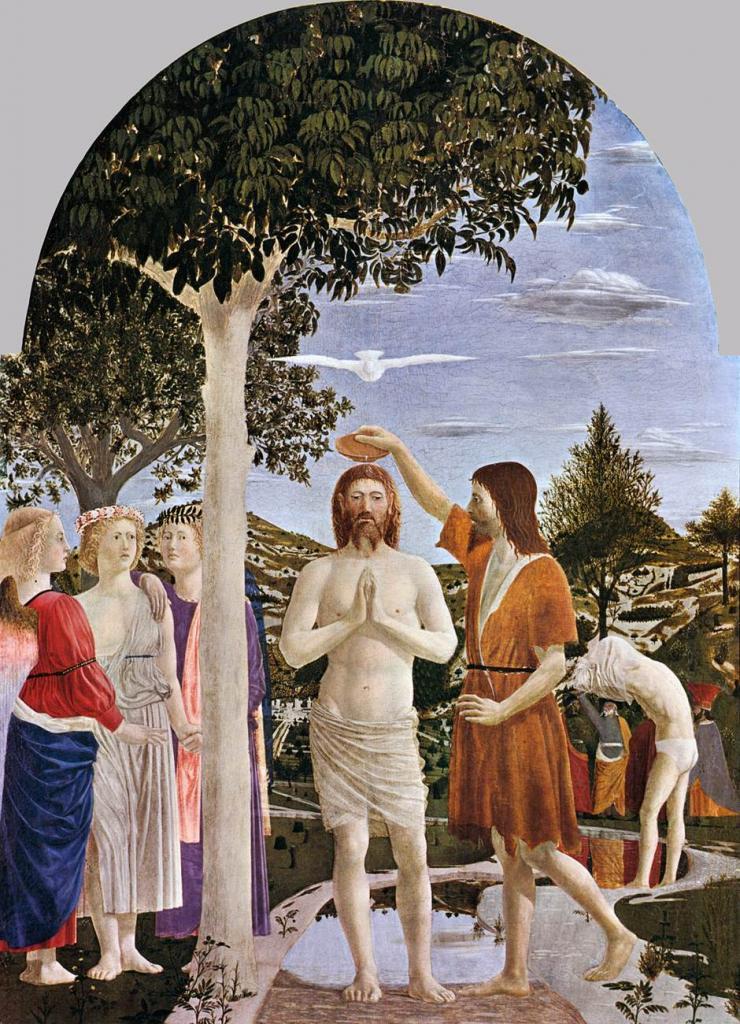 Assez Le baptême de Jésus | Images Bible : Les Images de la Bible PD72